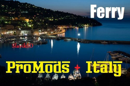 New Ferry ProMods + Italy