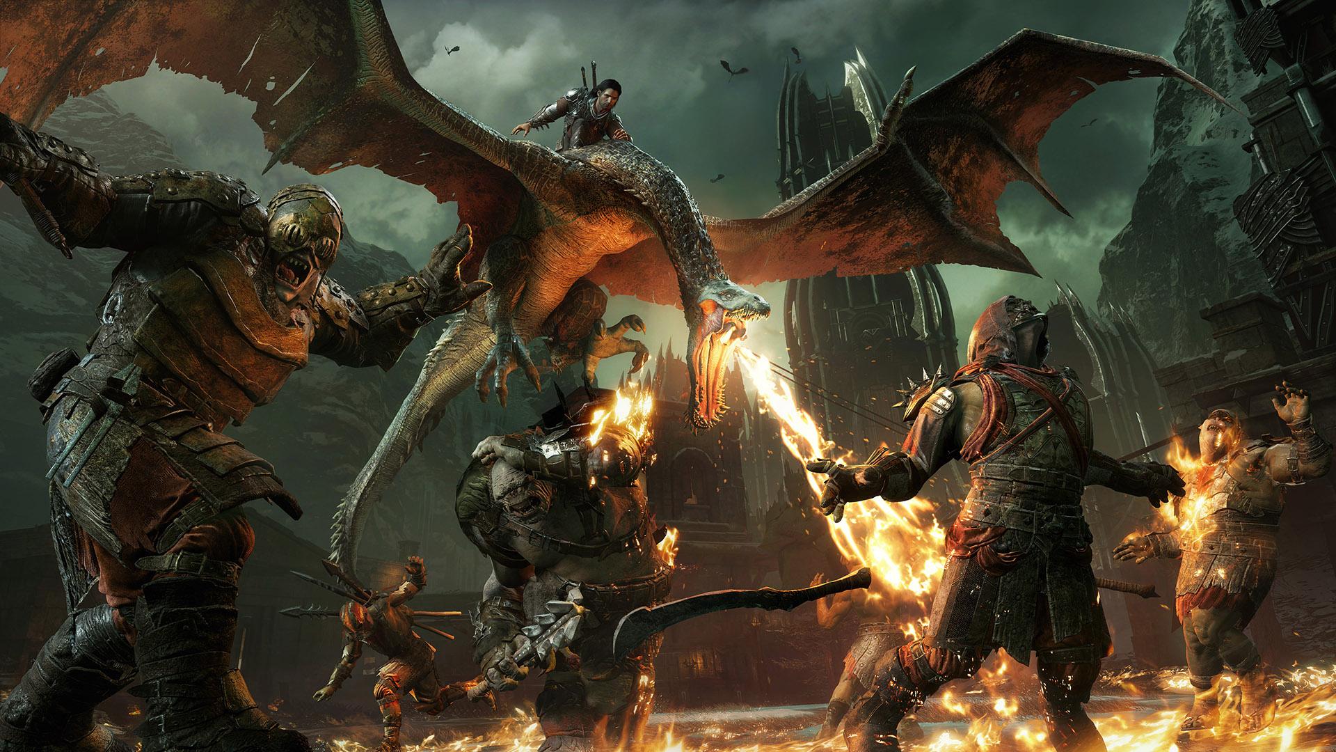 В трейлере Middle-earth: Shadow of War показали новое племя орков-охотников