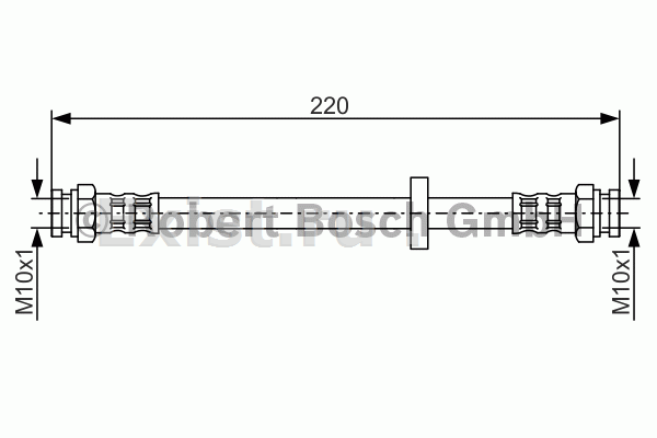 взаимозаменяемость передних тормозных шлангов на фиат темпра