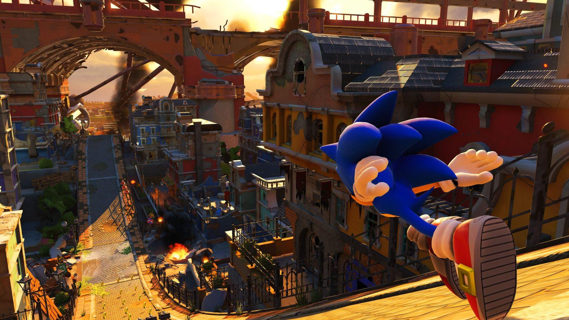 Разработчики Sonic Forces опубликовали три новых видео