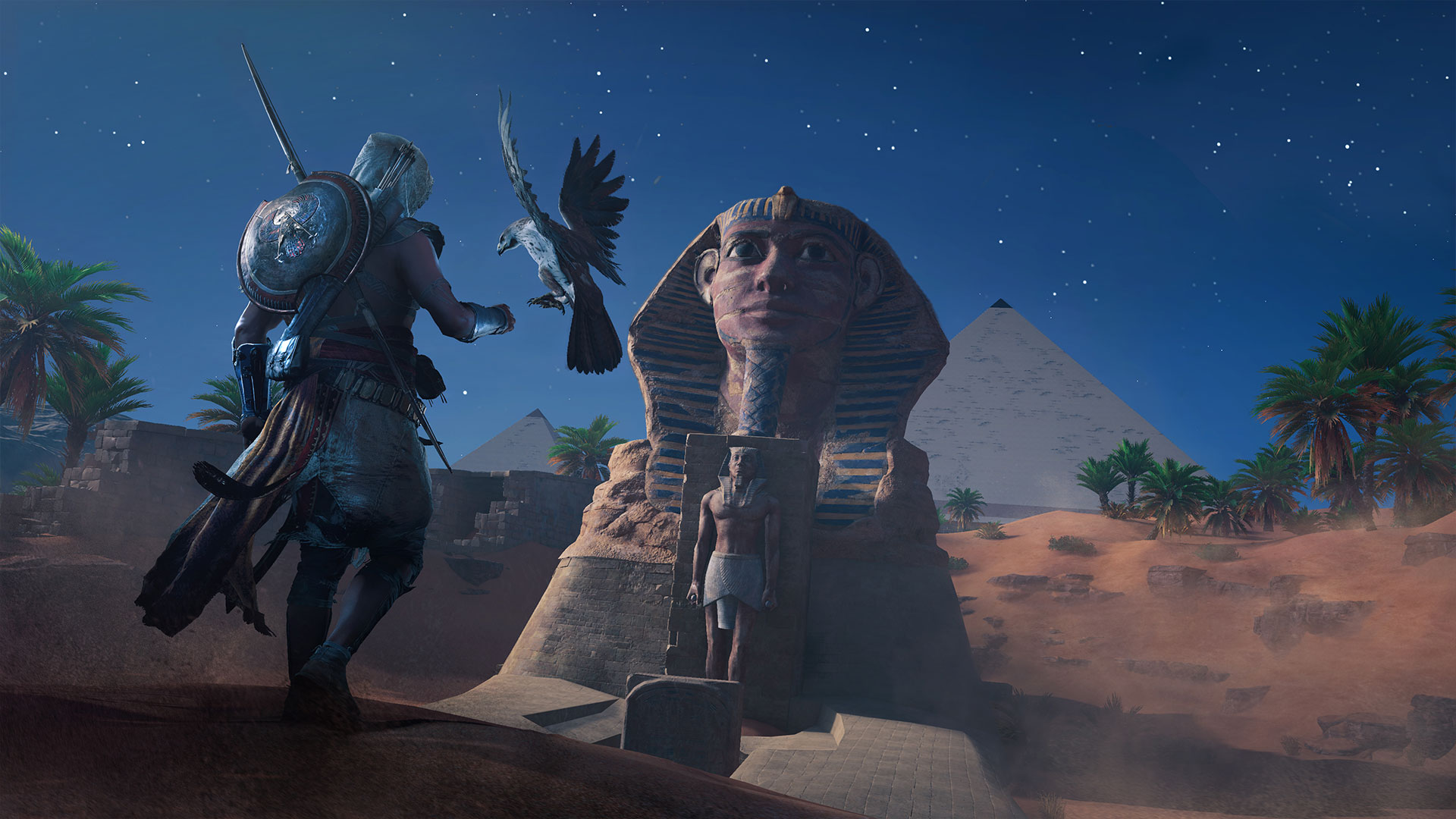 Вышел новый пугающий трейлер Assassin's Creed Origins