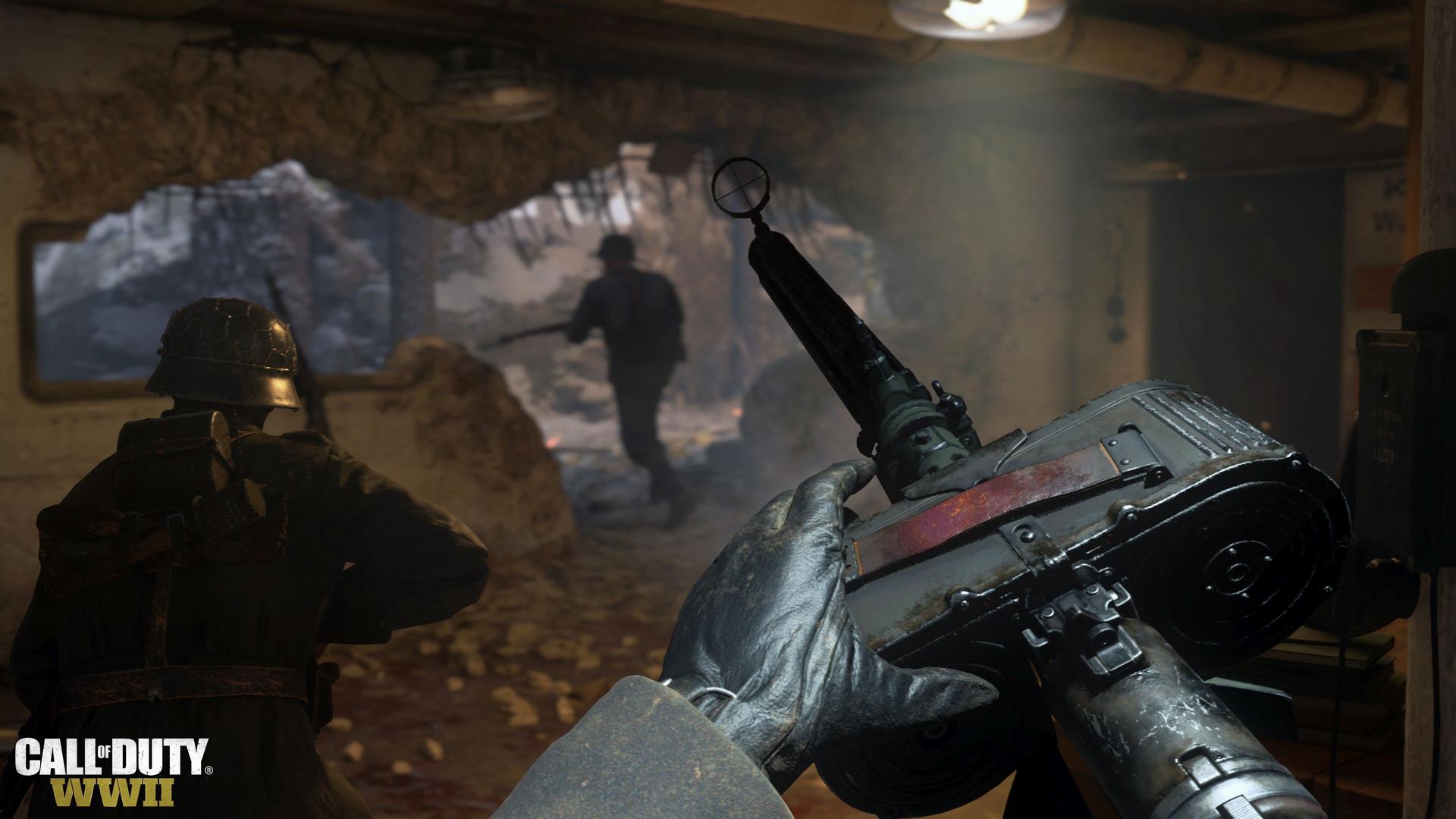 Activision опубликовала видео, посвященные главным героям Call of Duty: WWII