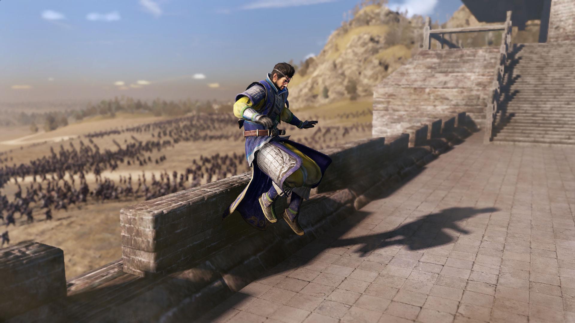 Карту в Dynasty Warriors 9 можно пересечь на лошади за 3 часа