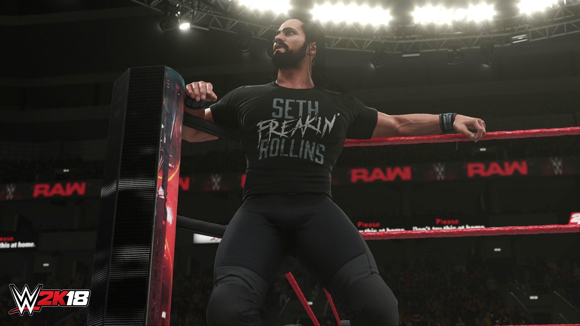Разработчики WWE 2K18 раскрыли подробности режима Universe