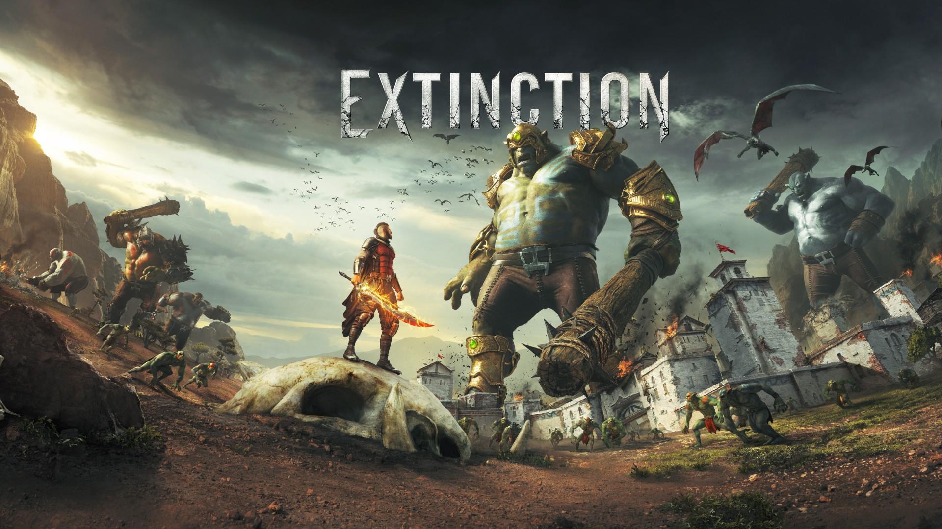 Опубликован дебютный геймплей Extinction