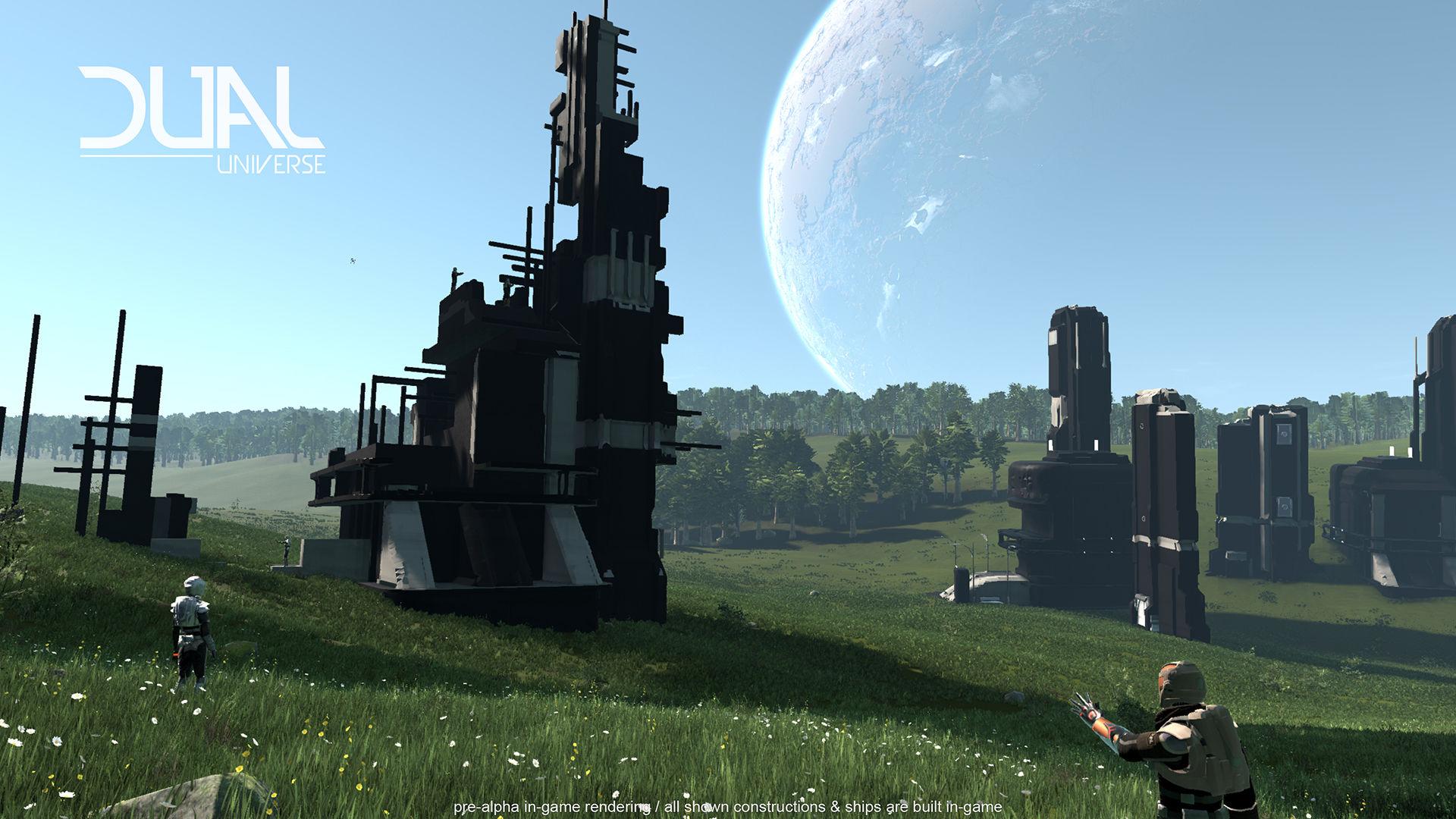 Представлен тизер-трейлер sci-fi-песочницы Dual Universe