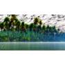 3D модель острова в тропиках