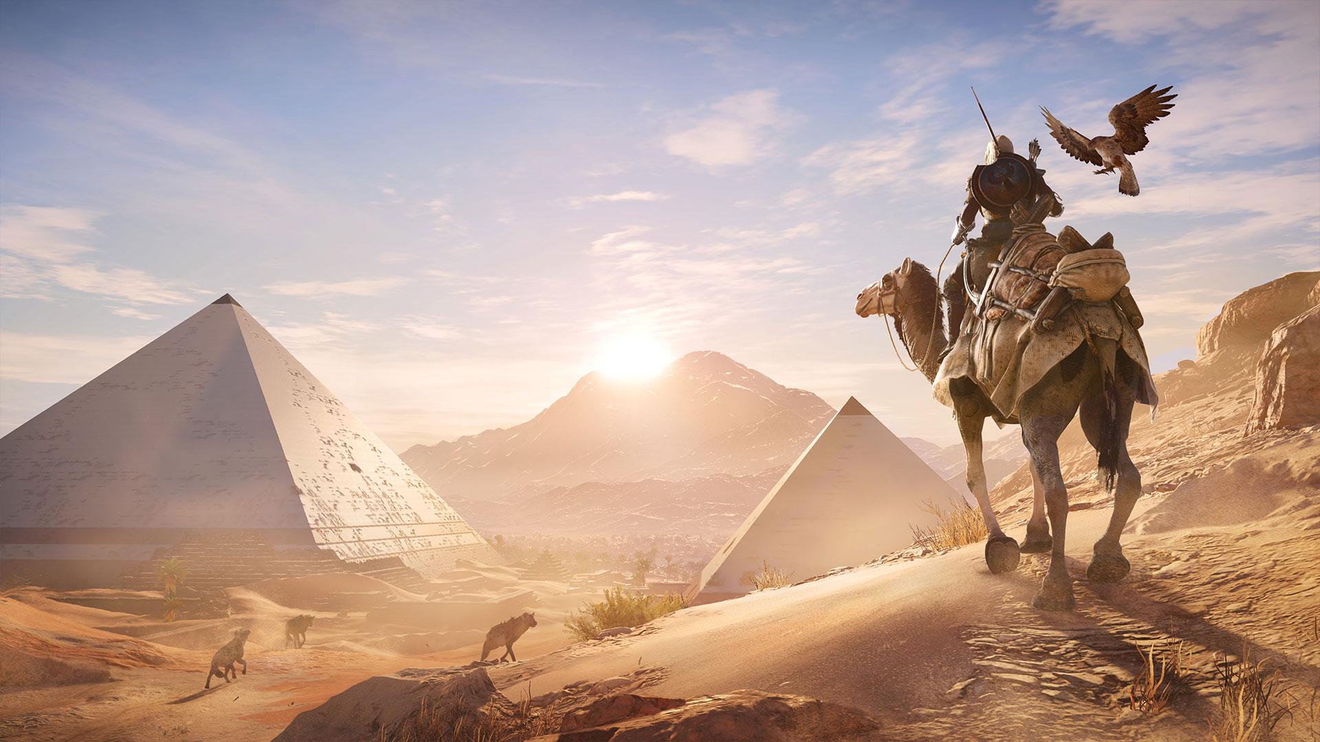 В Assassin's Creed: Origins можно будет менять сложность и гладить кошек