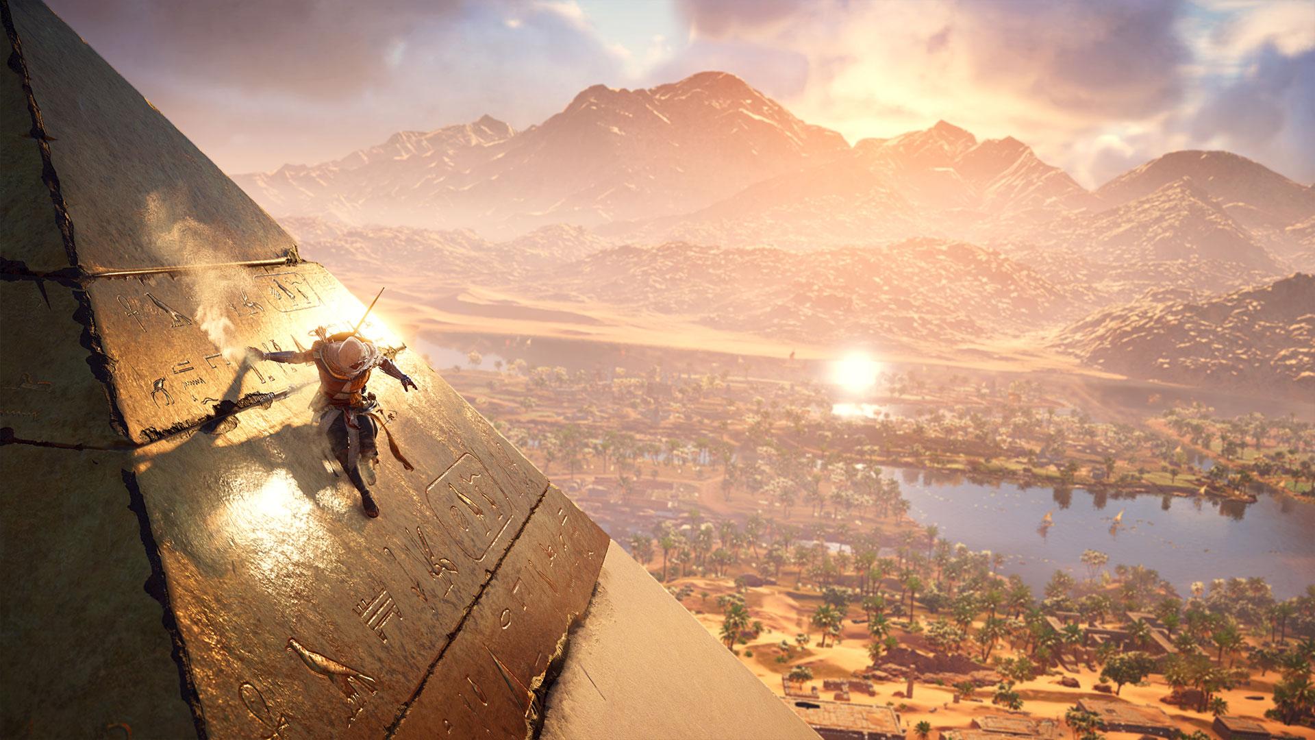 Полчаса игрового процесса Assassin's Creed: Origins в 4K