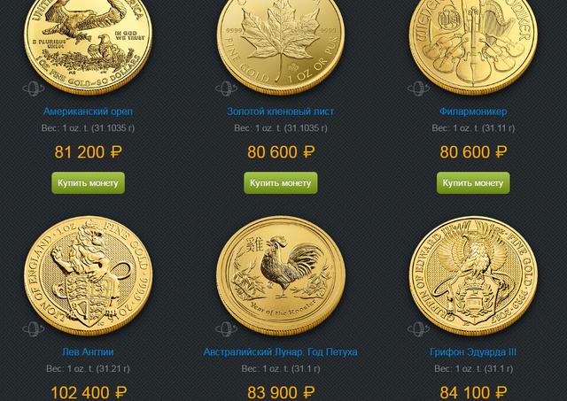 Кардинг золотых монет Альпари.