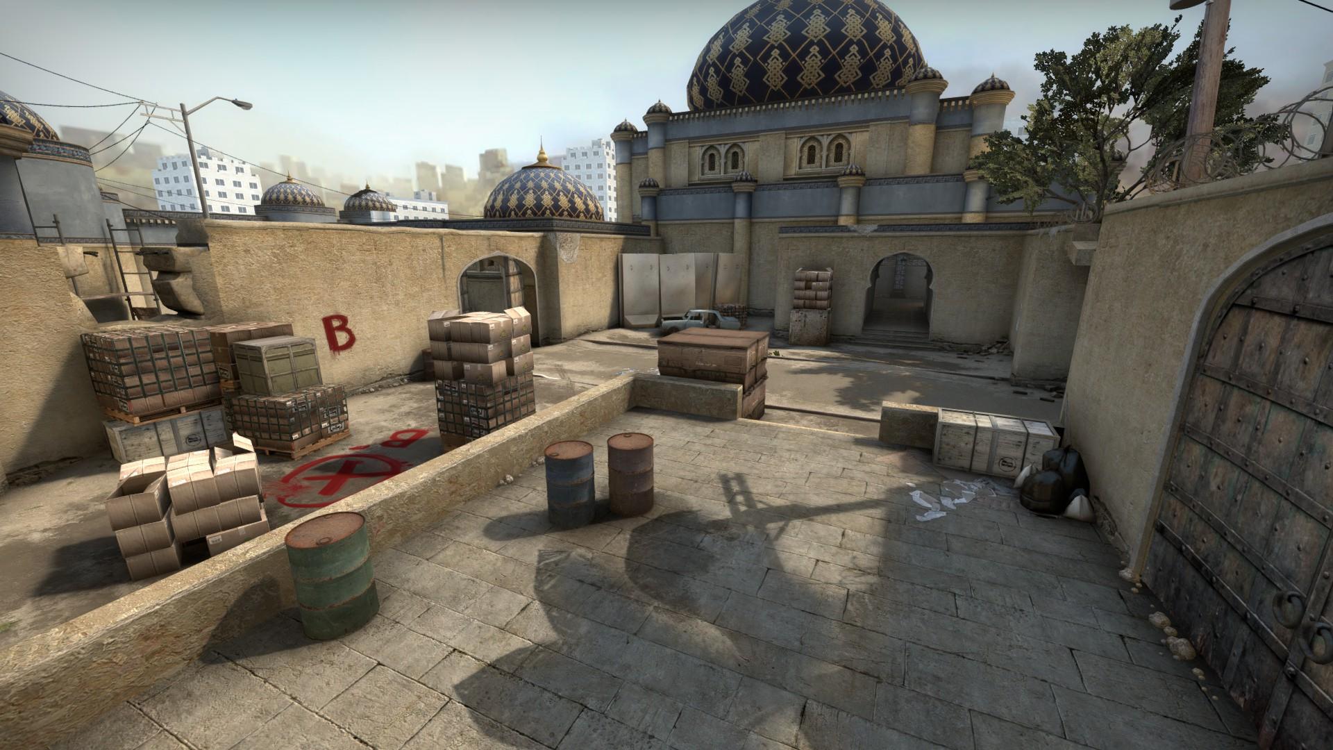 Посмотрите, как выглядит новая Dust 2 в CS:GO (видео)
