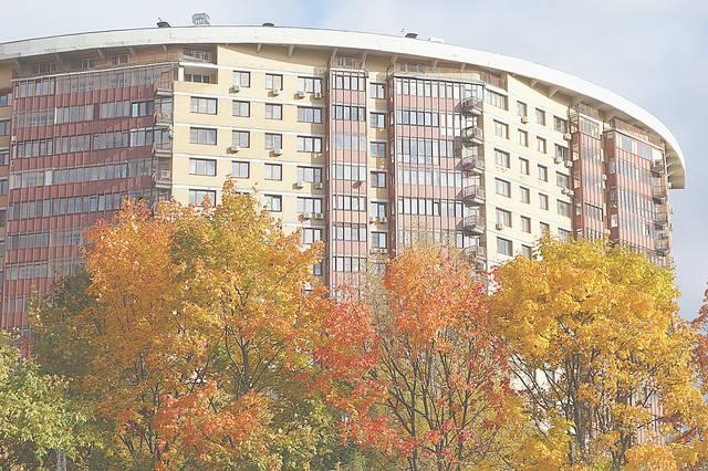 Здание возле ул. Удальцова. Фото Морошкина В.В.