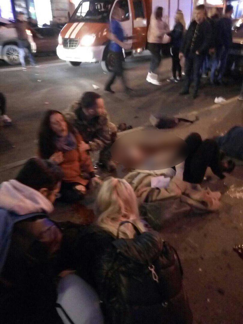 Появились первые кадры с места трагедии в Харькове   Изображение 1