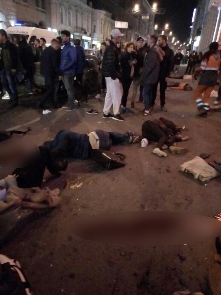 Появились первые кадры с места трагедии в Харькове   Изображение 2