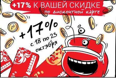 Промокод Домовой.  Скидка 17% на ВСЁ