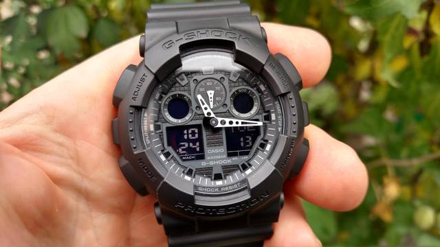 Casio G Shock Watch Ga 100 1a1d Fashion Sports Watch C9 - Relgios 32