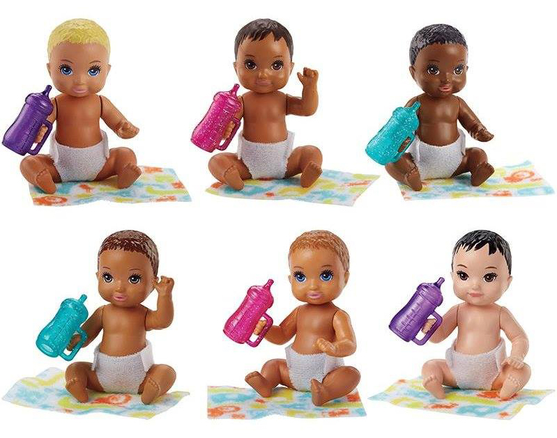 Barbie-Skipper-dolls-babies