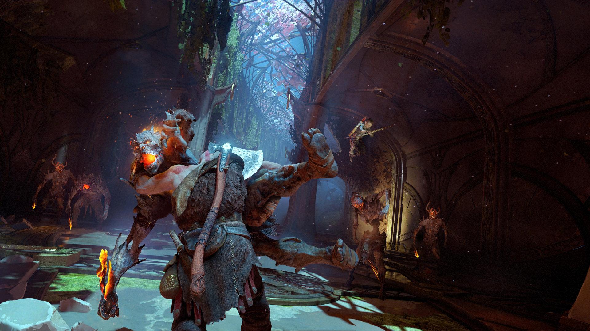 Кратос учит сына охоте в новом трейлере God of War