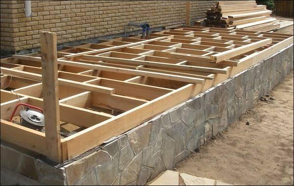Строительство террасы своими руками фото 51