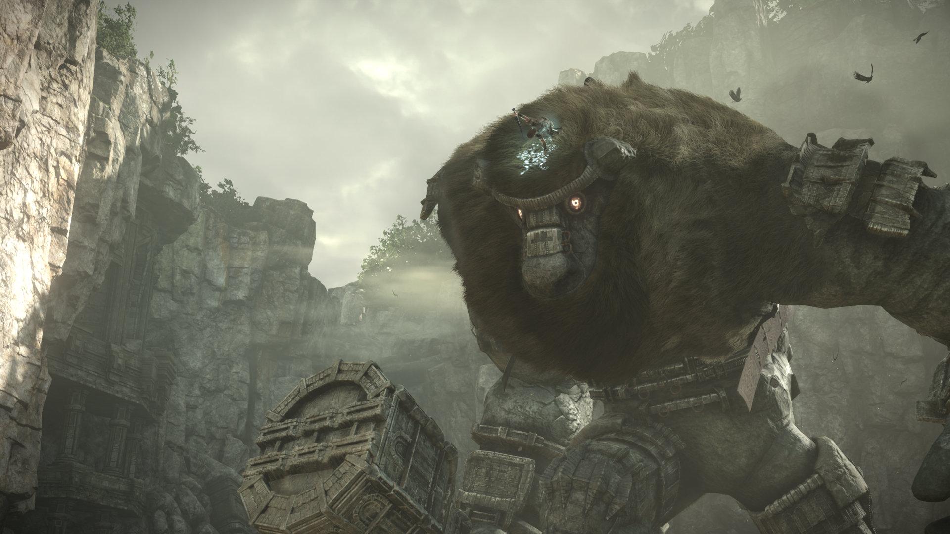 Опубликованы 4K-скриншоты Shadow of the Colossus с PS4 Pro
