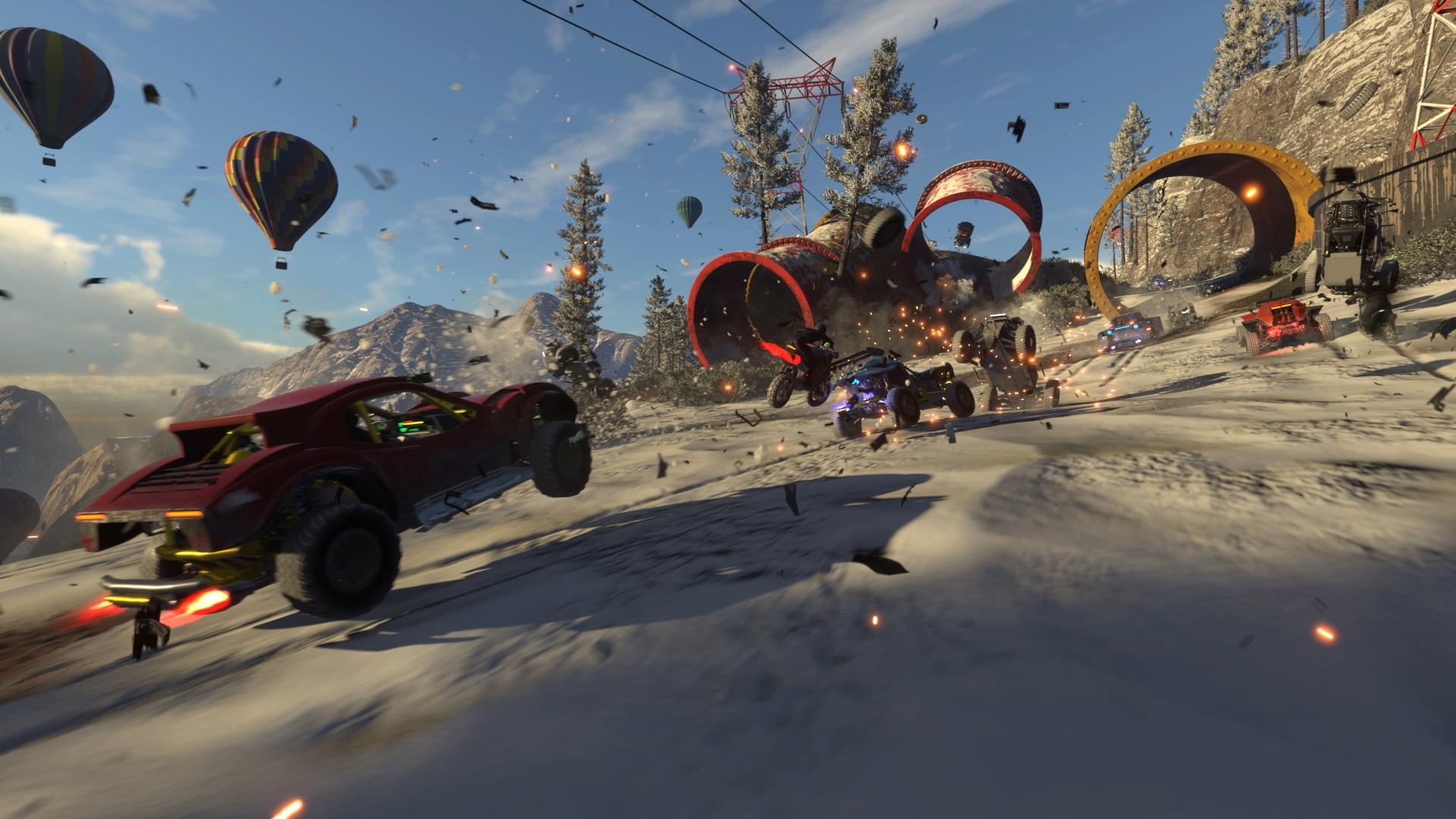 Codemasters анонсировала гоночный симулятор Onrush