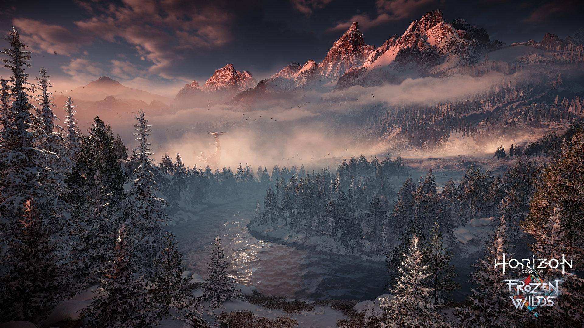 Прохождение Horizon Zero Dawn — The Frozen Wilds займёт как минимум 15 часов