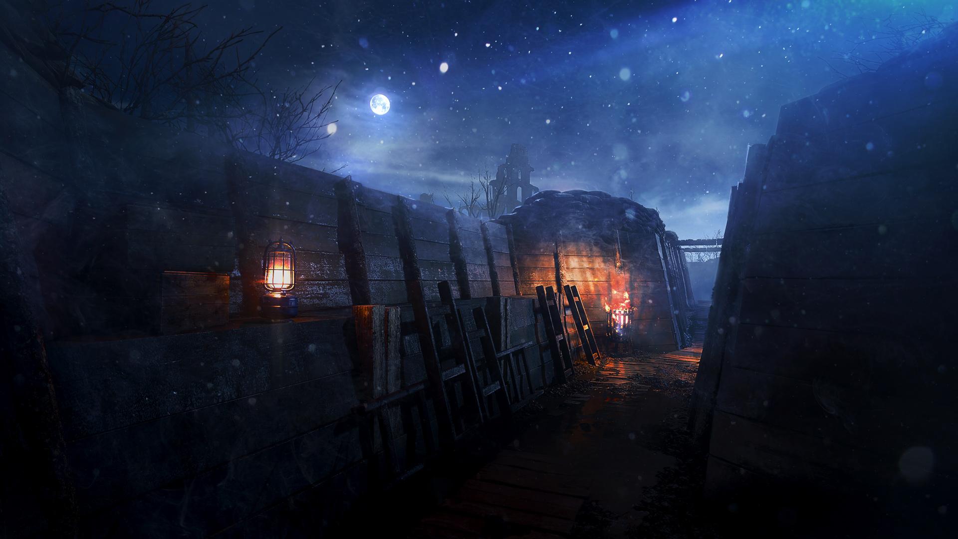 Карта «Ночи Нивеля» стала доступна для всех игроков Battlefield 1