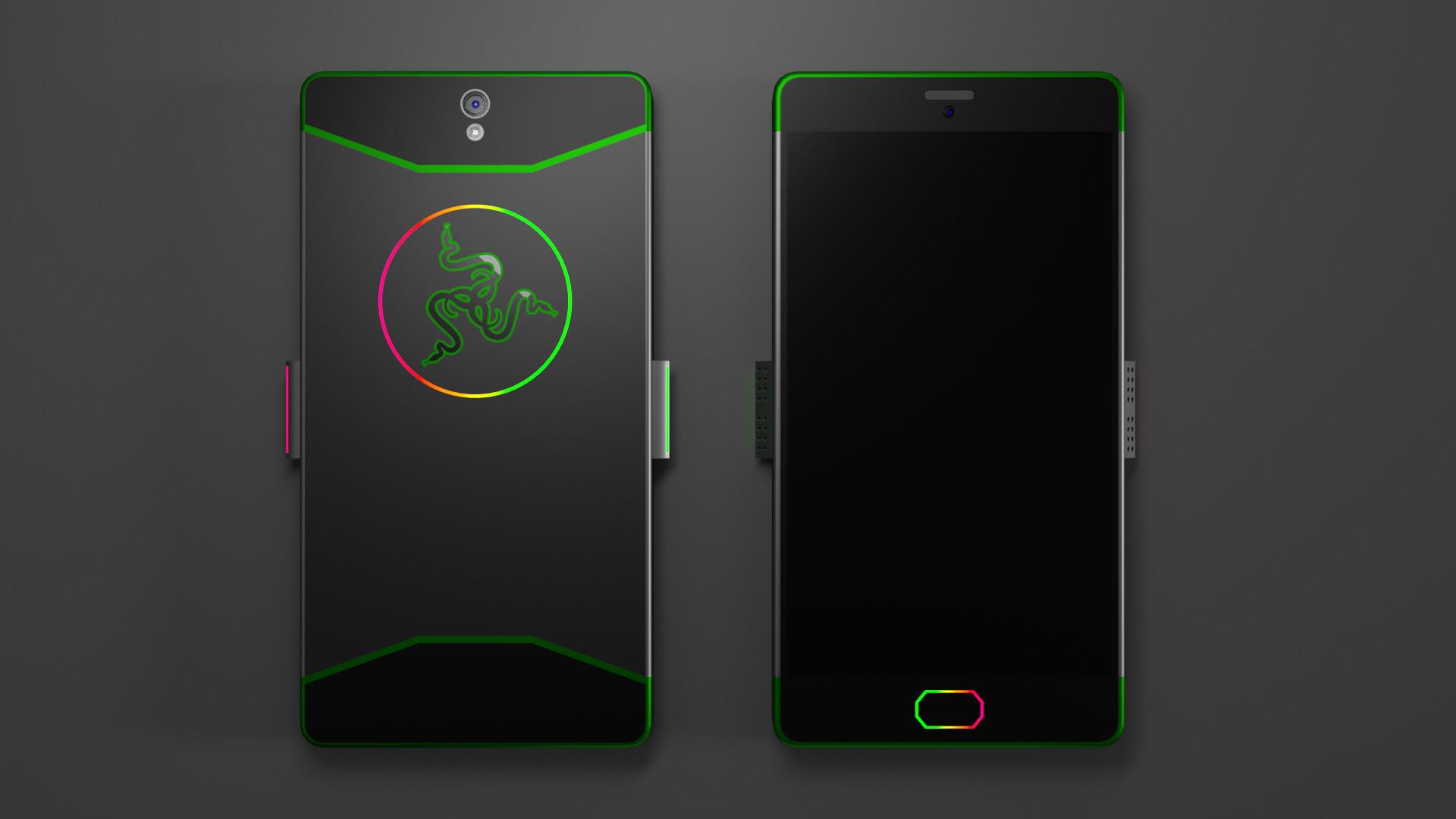 Представлен геймерский смартфон Razer Phone