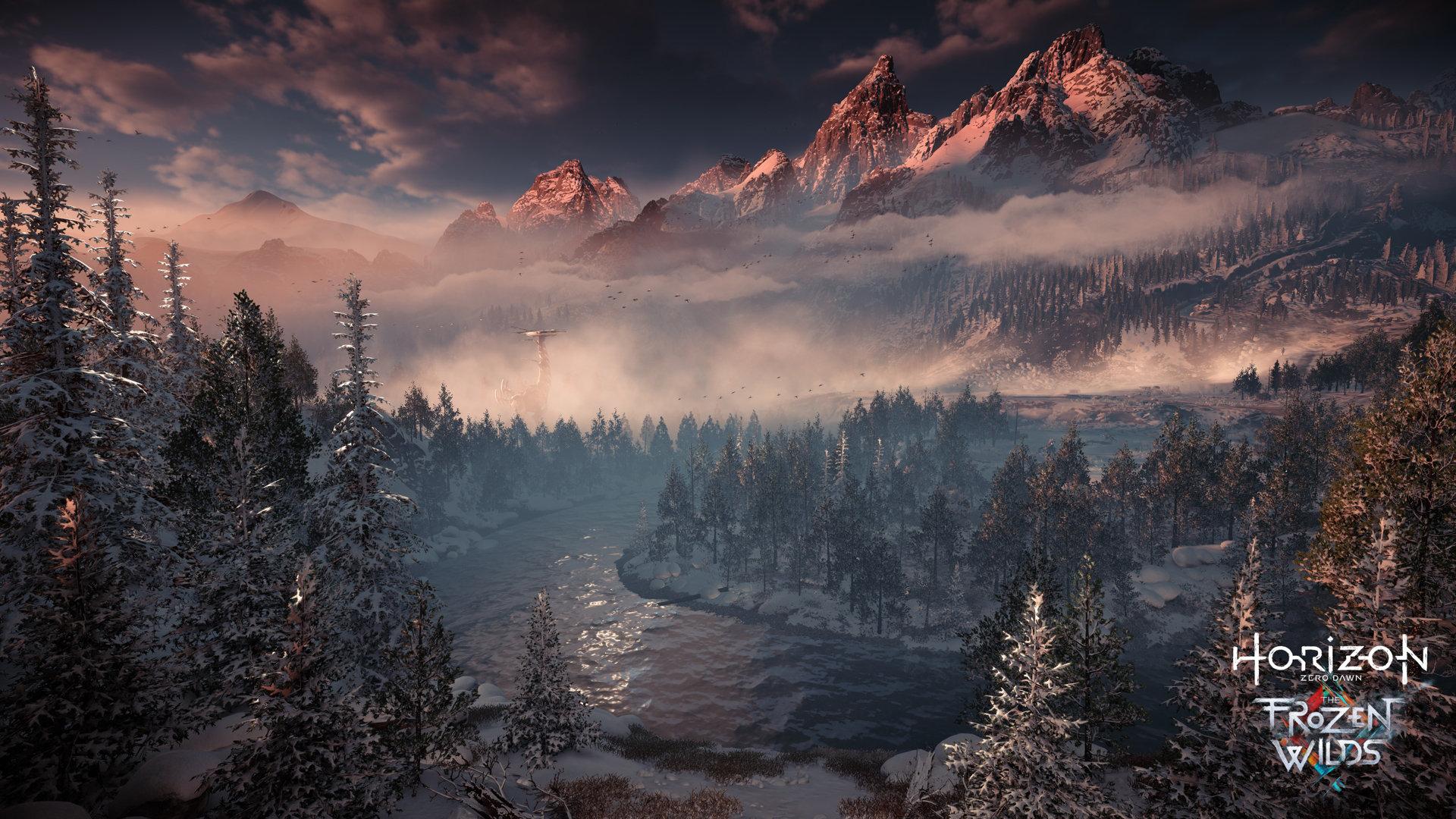 Посмотрите трейлер к выходу Horizon Zero Dawn: The Frozen Wilds