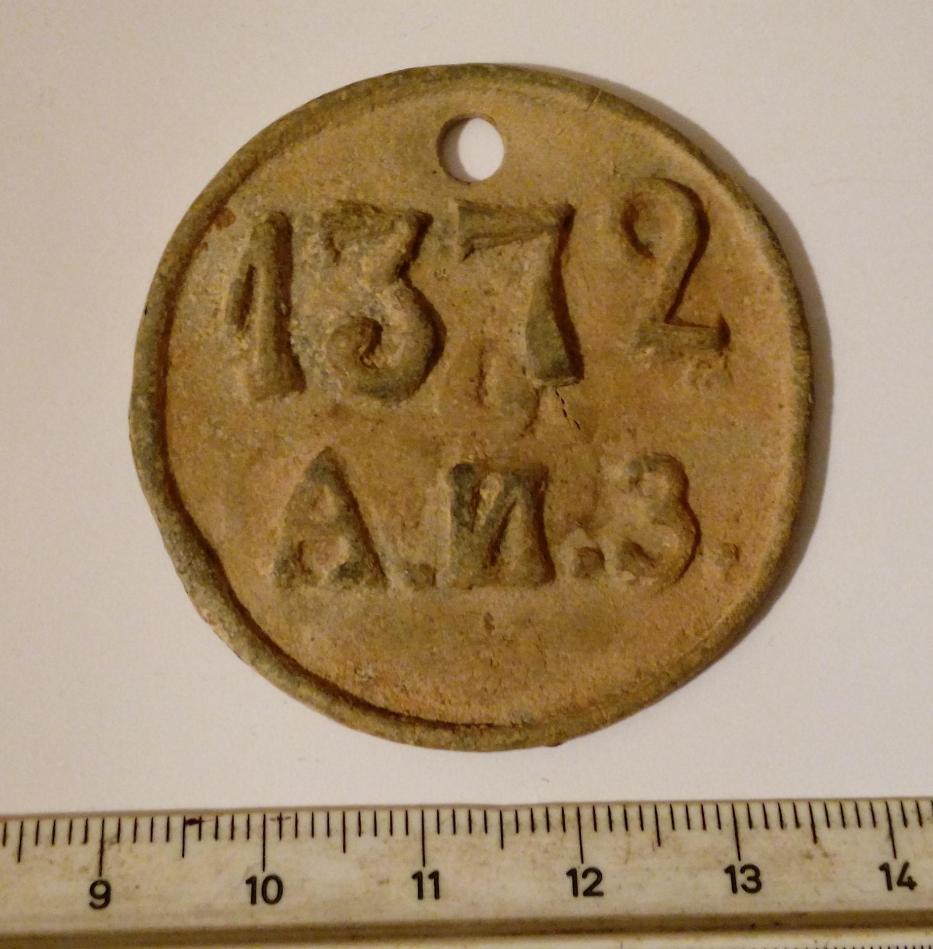 Старинный жетон. без мпц!. купить в витебске - другие жетоны.