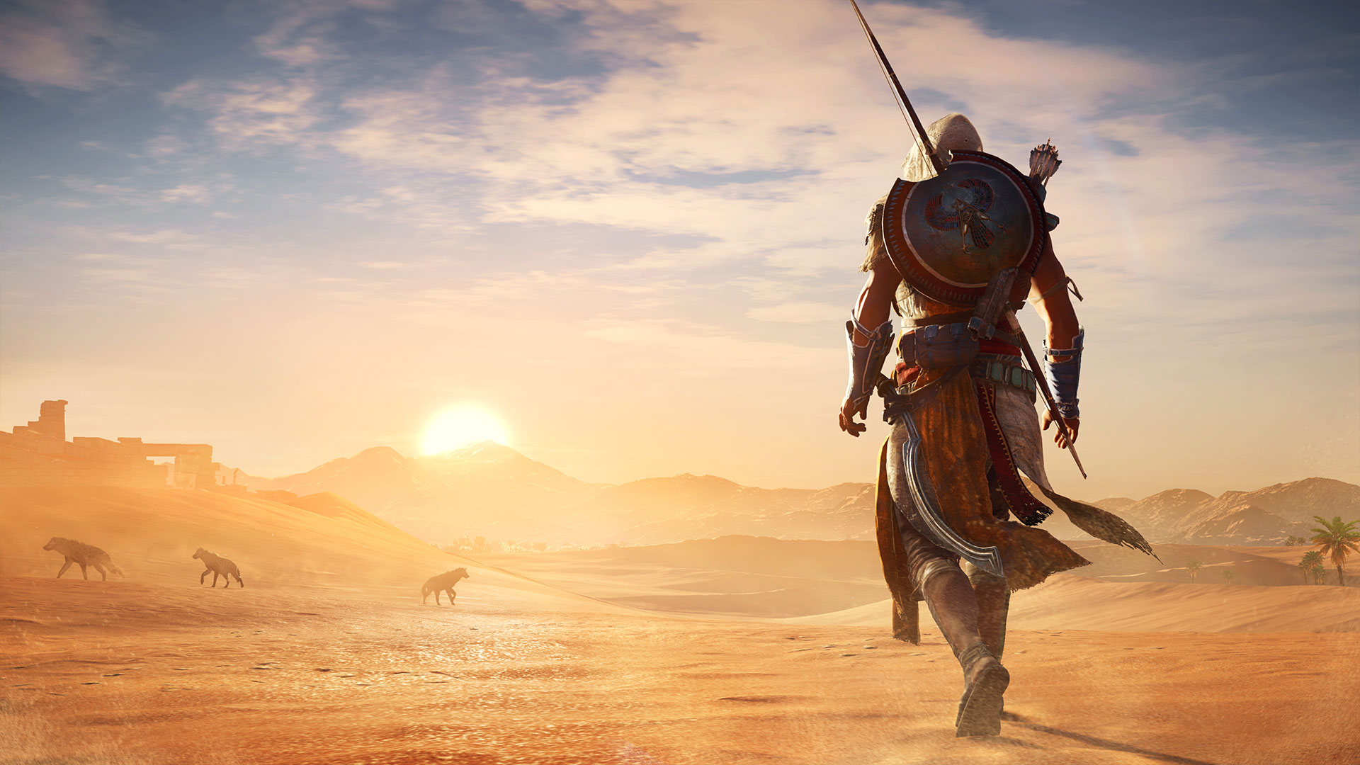 Сравнение графики Assassin's Creed: Origins на PC, PS4 Pro и Xbox One X