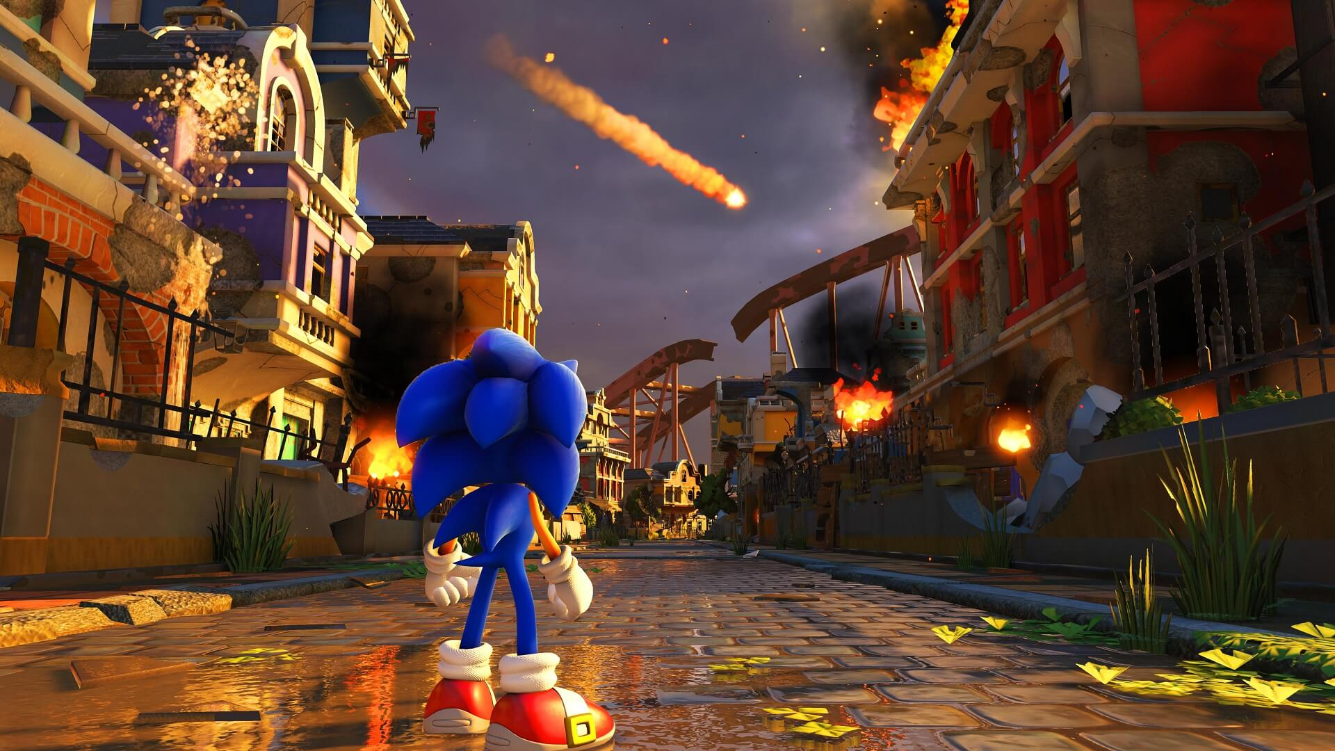 Обзор Sonic Forces — три в одном
