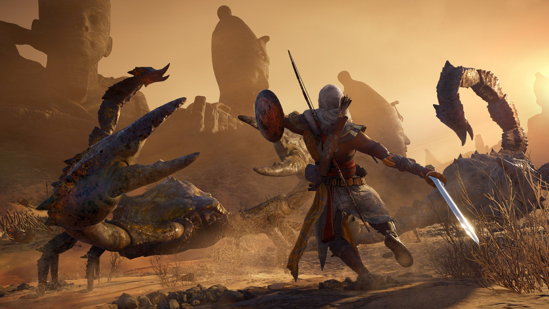 Для AC: Origins вышло DLC Roman Centurion Pack, в котором можно носить шкуру льва