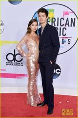 ansel-elgort-violetta-komyshan-couple-up-for-amas-2017-01