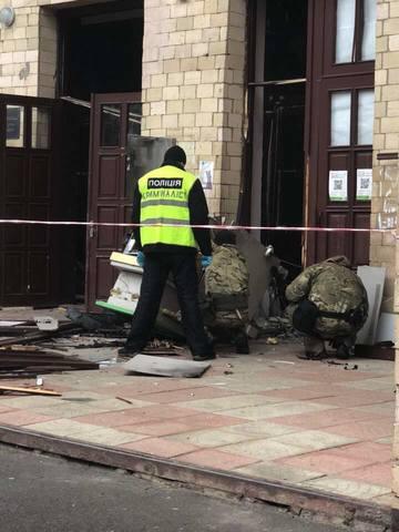 В одном из вузов Харькова прогремел взрыв (ФОТО)