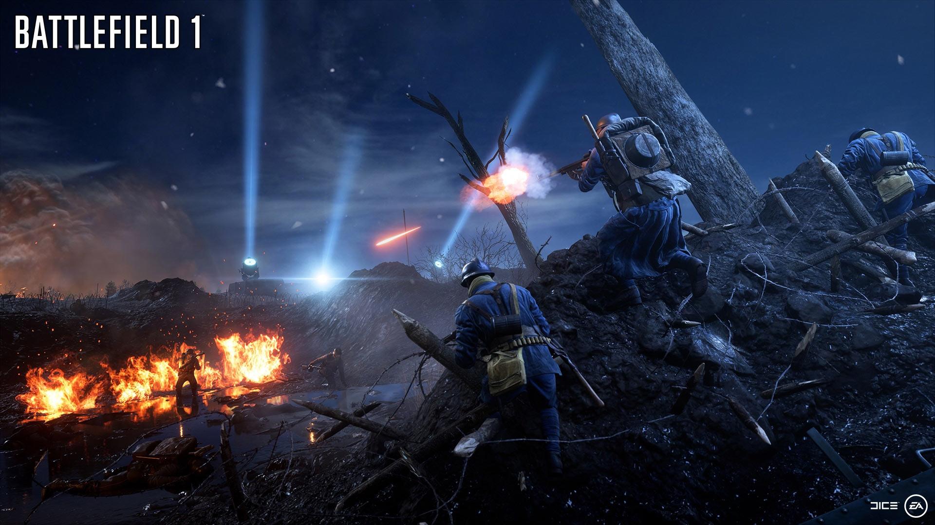 Посмотрите новый трейлер и скриншоты Battlefield 1: «Волны перемен»
