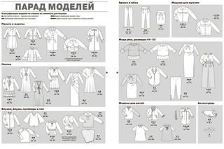 выкройка платья, журнал мод, burda moden, зима 2017