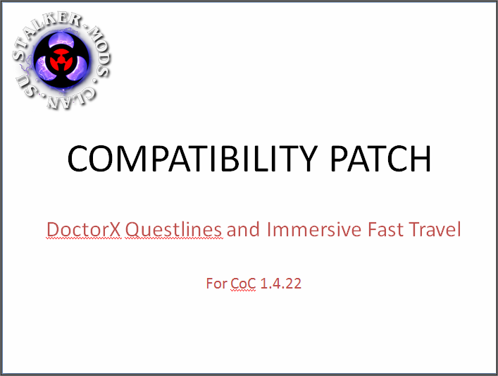Patch: DoctorX Q & IFT