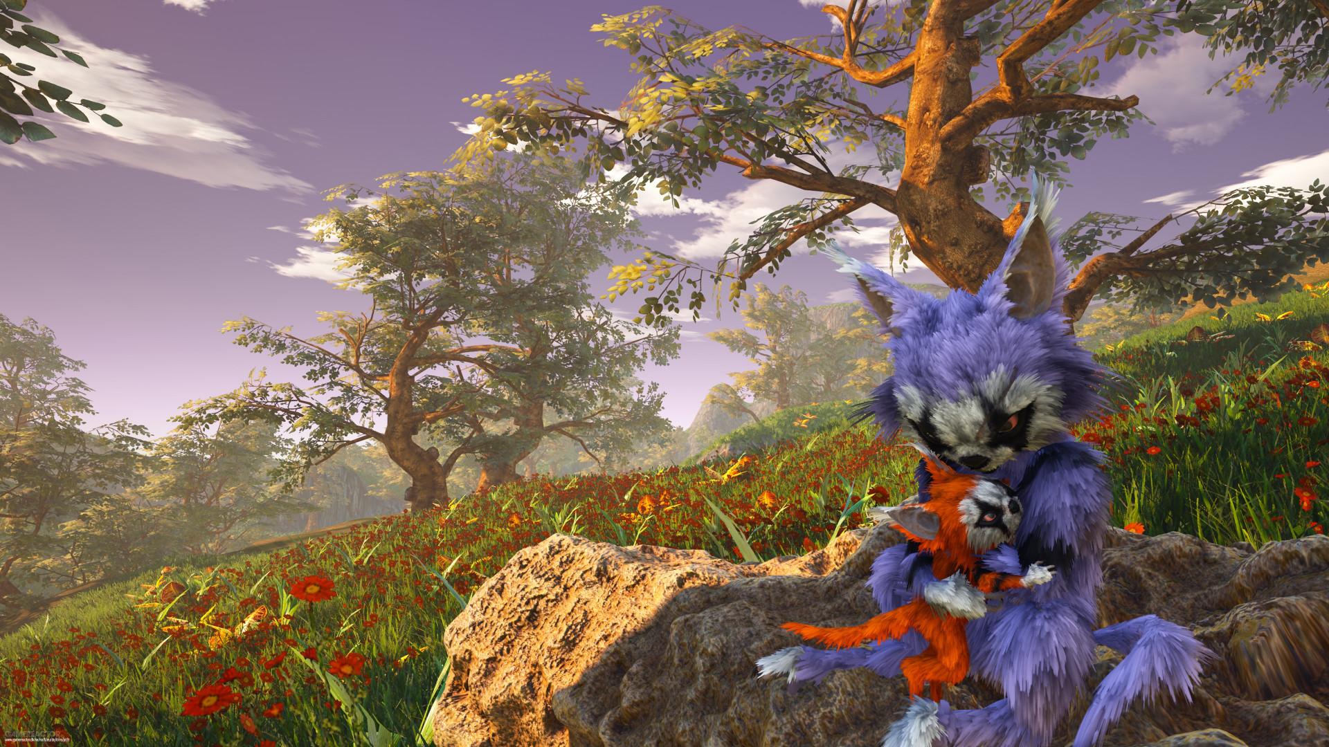 Новые красивые скриншоты Biomutant