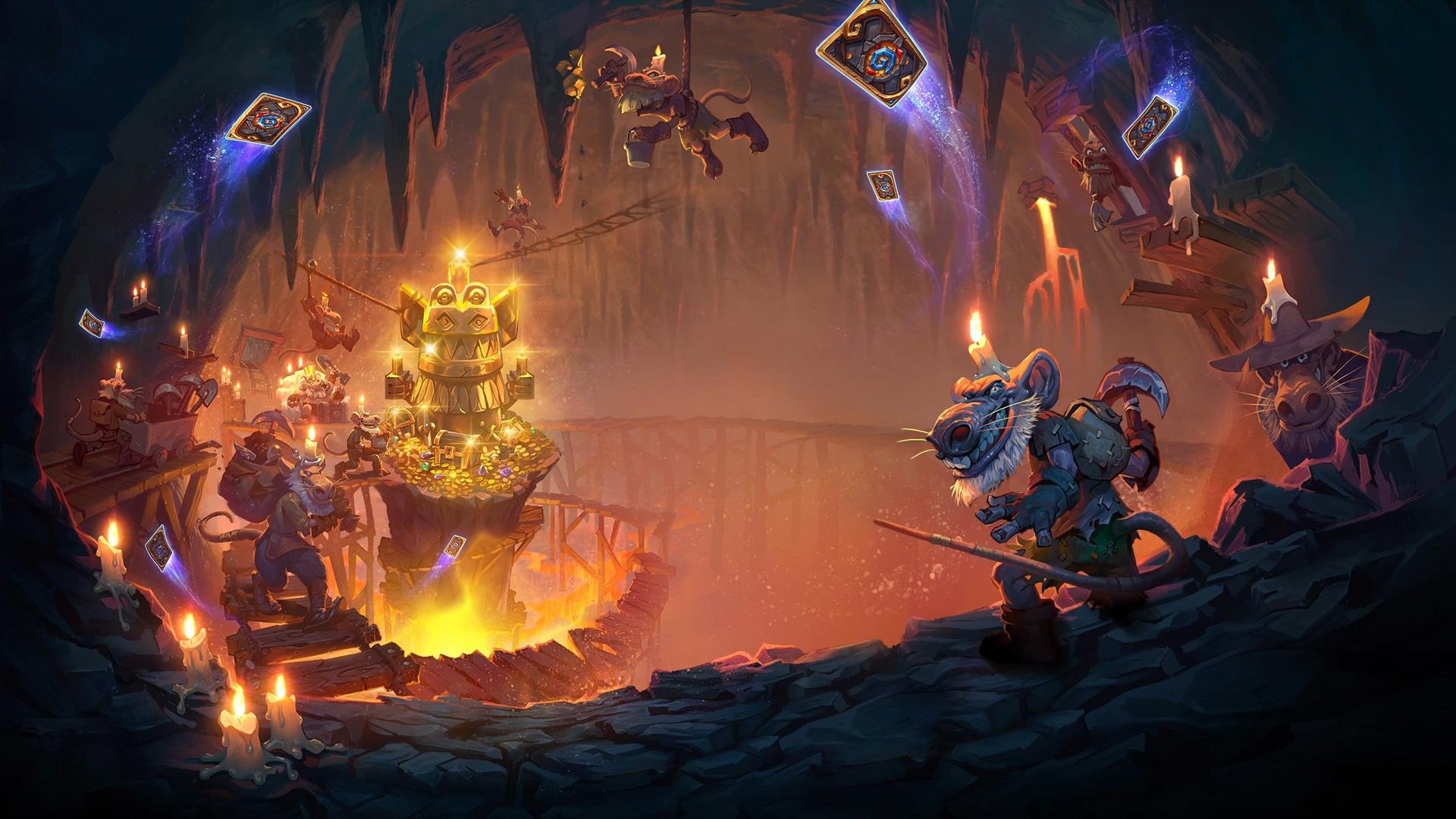 Объявлена точная дата выхода Hearthstone: Kobolds and Catacombs