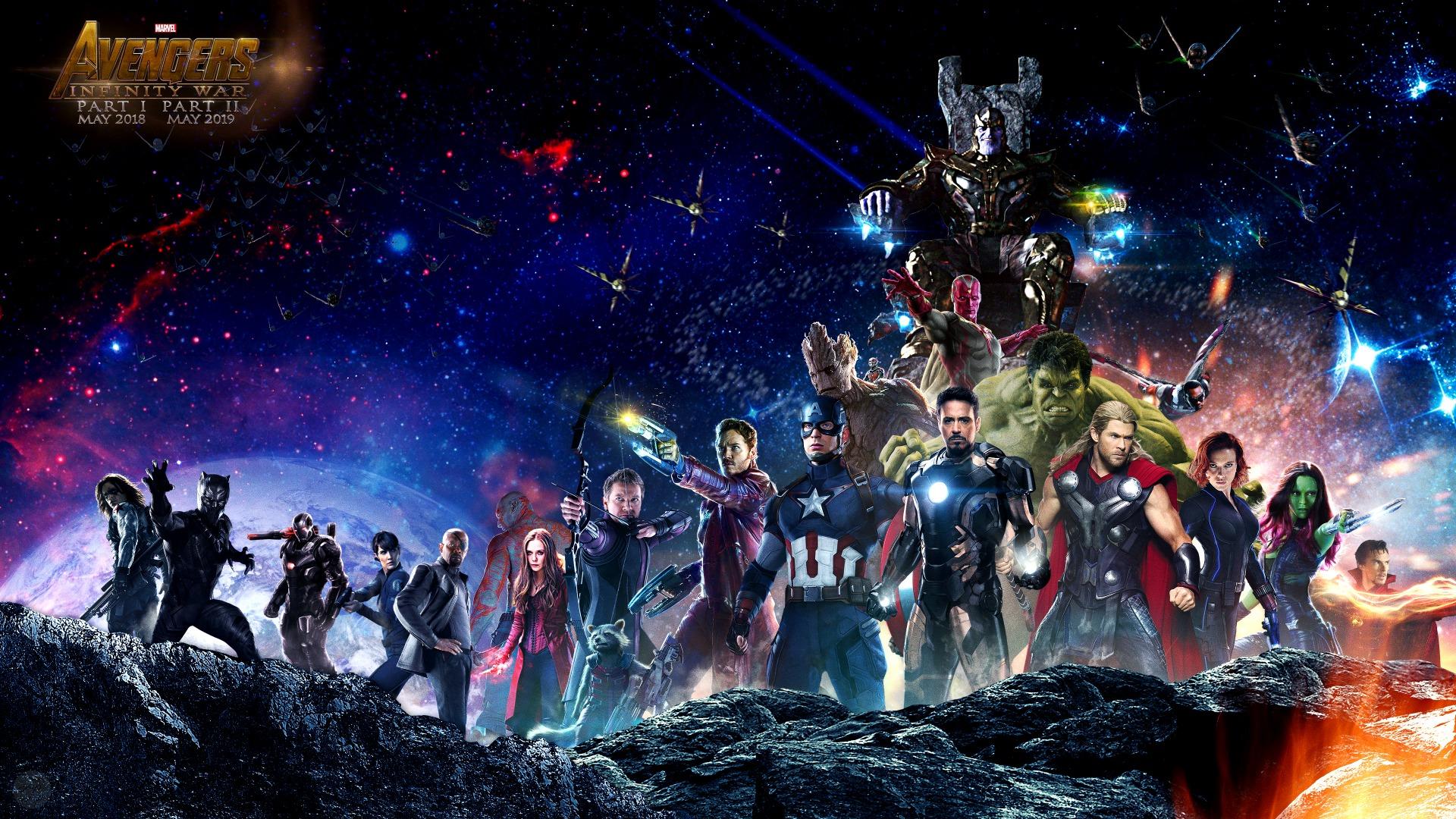 Посмотрите первый трейлер «Мстителей: Война бесконечности»