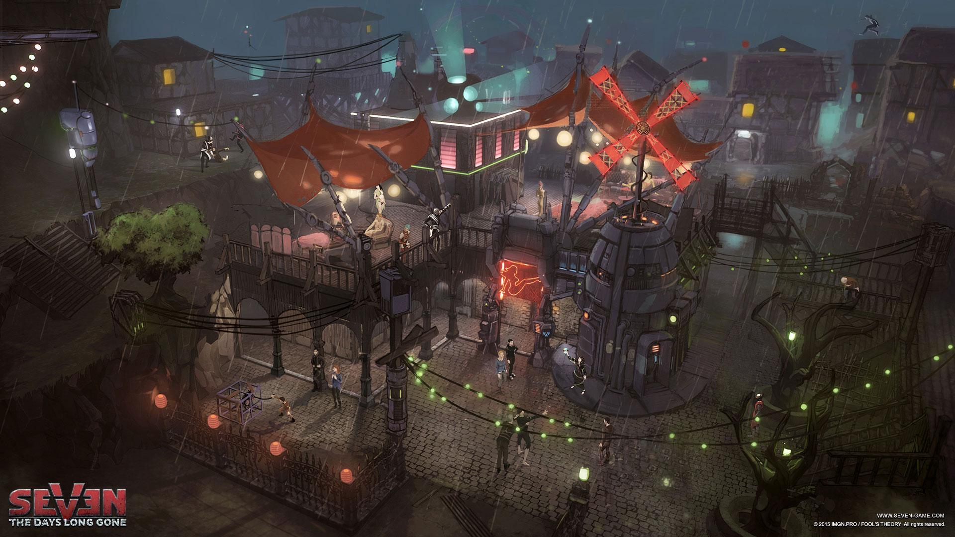 Обзор Seven: The Days Long Gone — техномагический стелс от создателей The Witcher 3: Wild Hunt