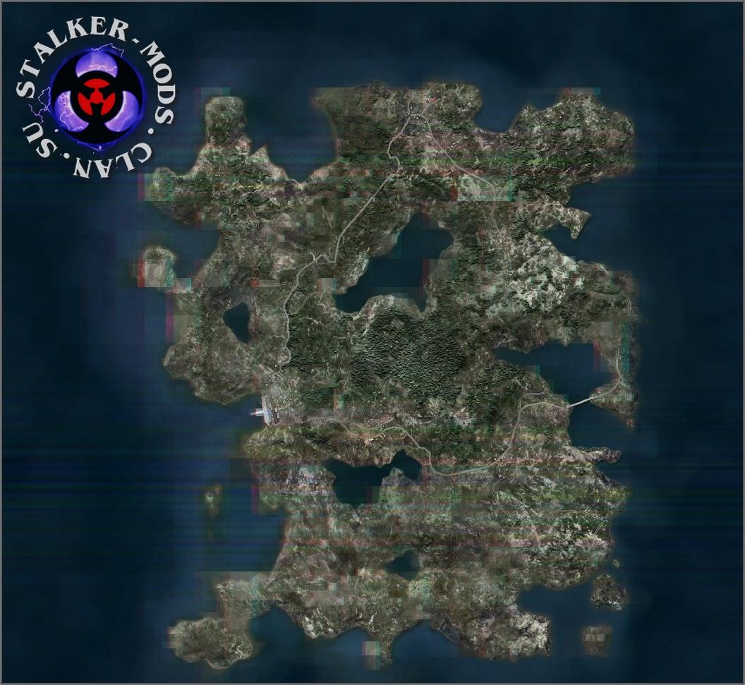 Карта Bariga для ARMA 3