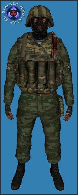 модель бойца