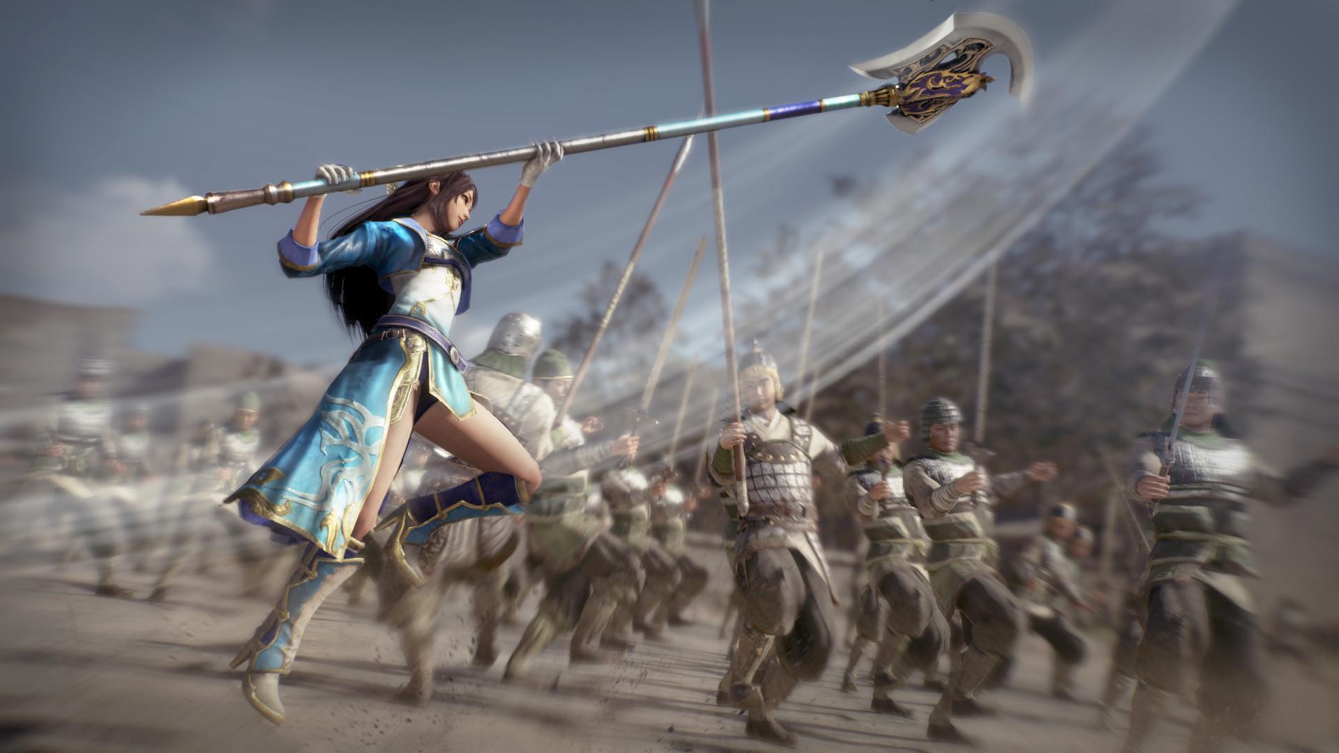 Представлен новый трейлер Dynasty Warriors 9