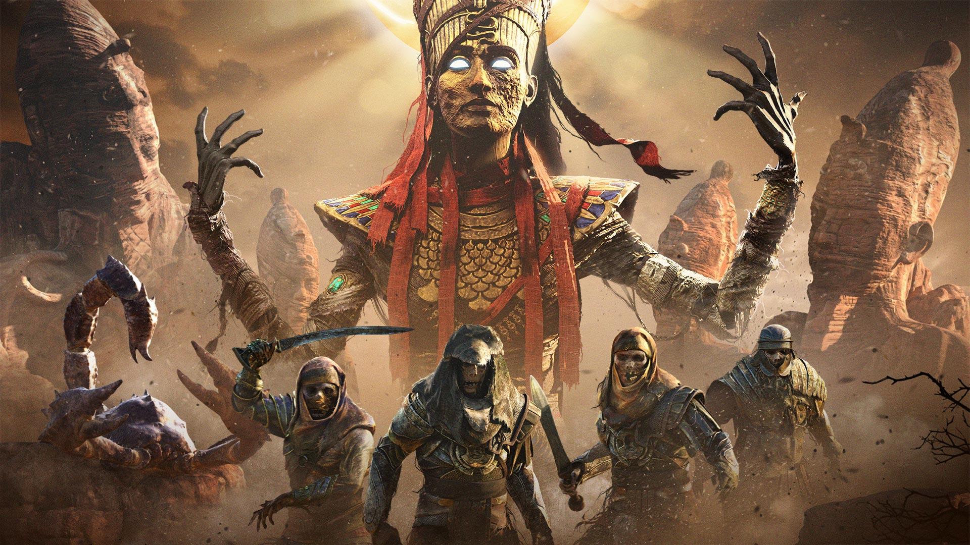 В новом «Испытании Богов» Assassin's Creed: Origins игроки встретятся с богиней войны и палящего солнца