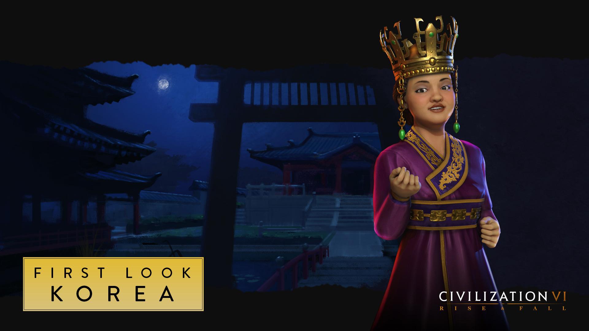 В новом видеоролике Civilization 6: Rise and Fall показали Корею