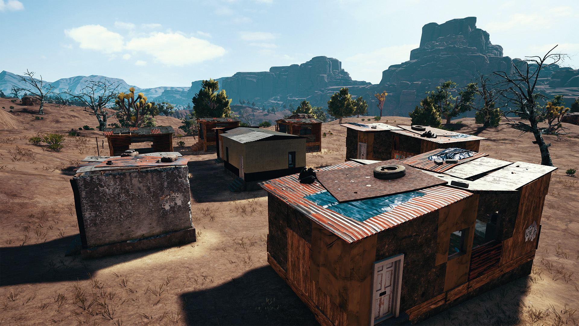 Пустынная карта в Playerunknown's Battlegrounds получила название Мирамар