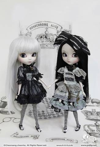 Pullip Monochrome Alice Limited Edition  19713973_m