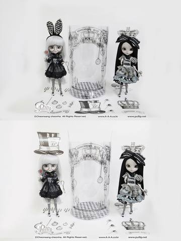 Pullip Monochrome Alice Limited Edition  19713976_m